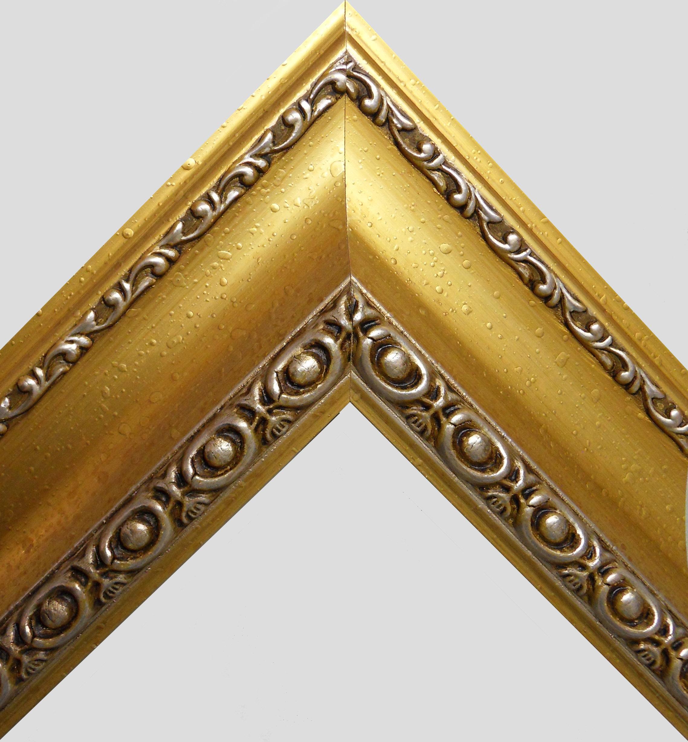 "Stick frame ""006P"" Gold"