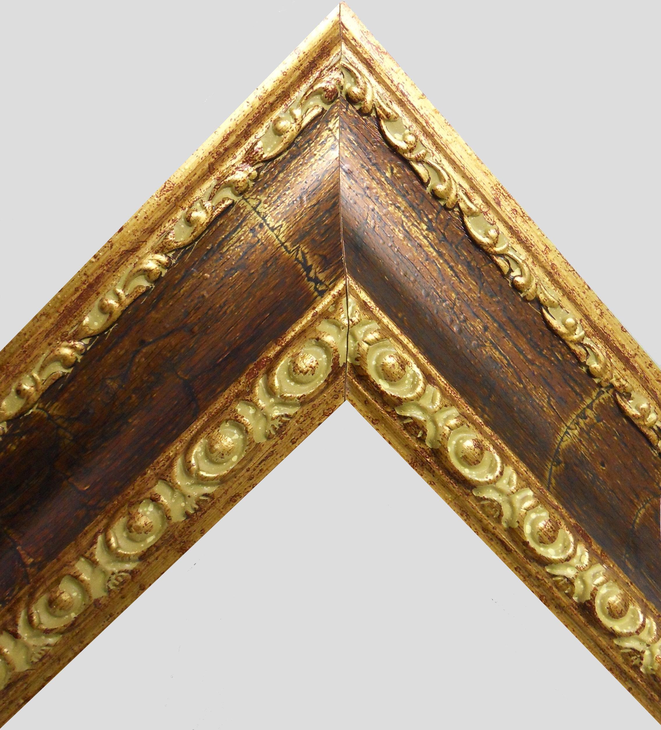 """Stick frame """"006P"""" Gold acid"""
