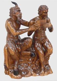Centaur carved