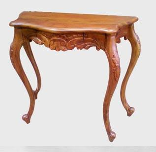Console carved