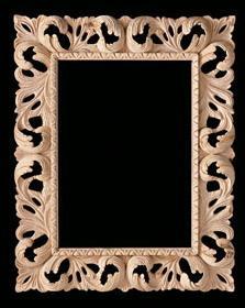 Baroque frames 809