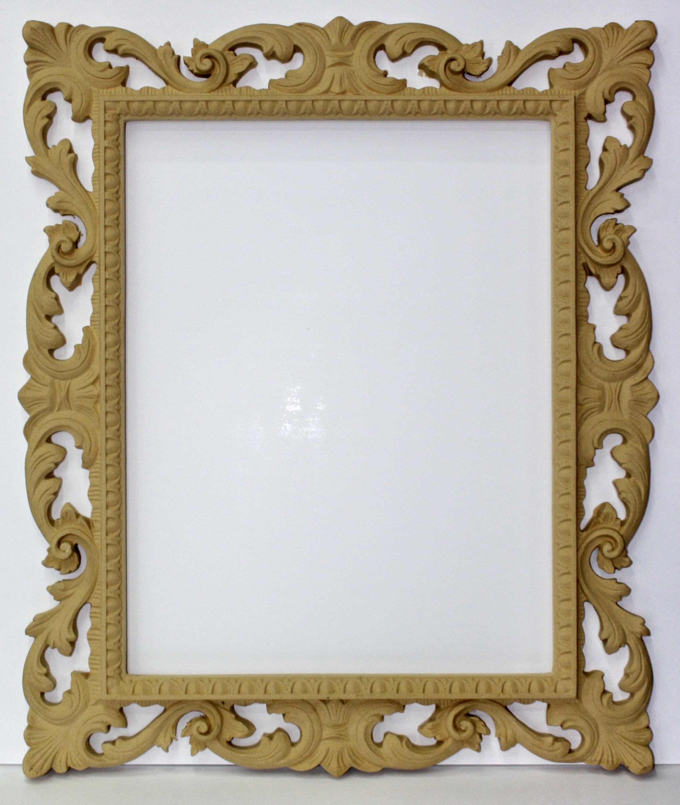 Perforated frame