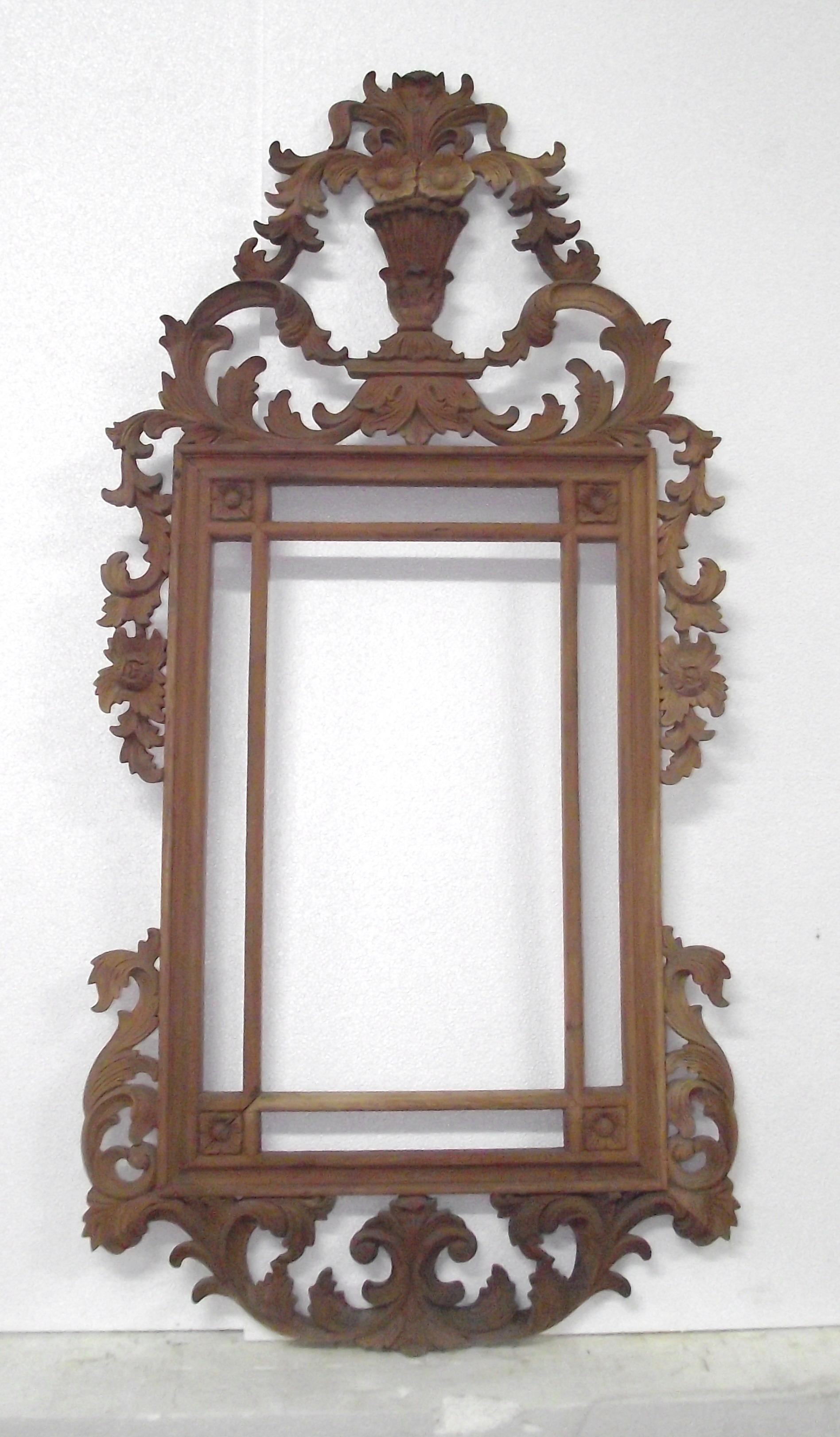 Frame with flowers