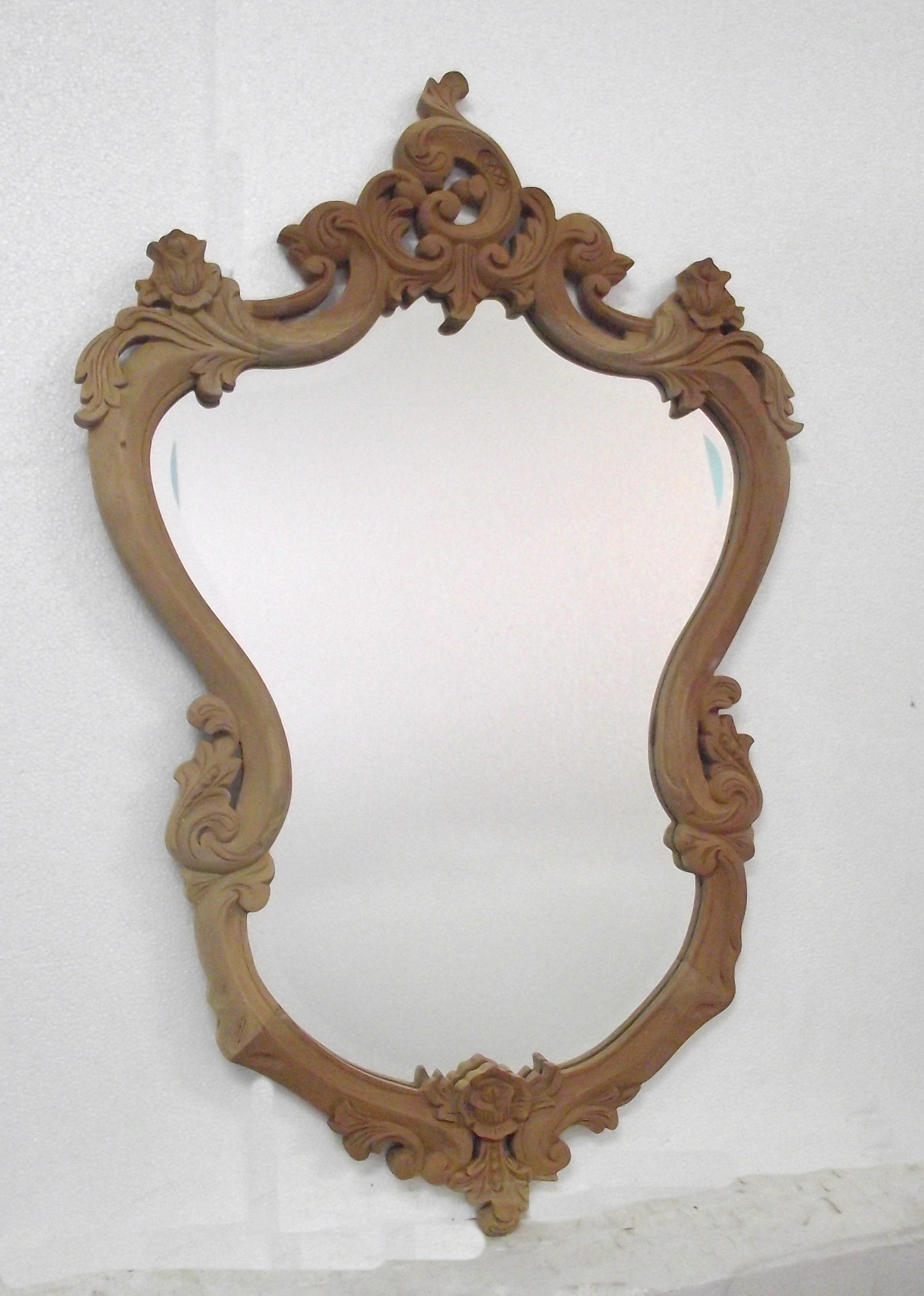 Mirror carved heart