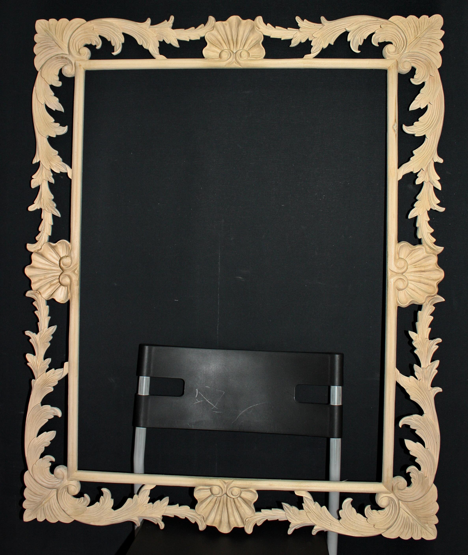 open-work frame