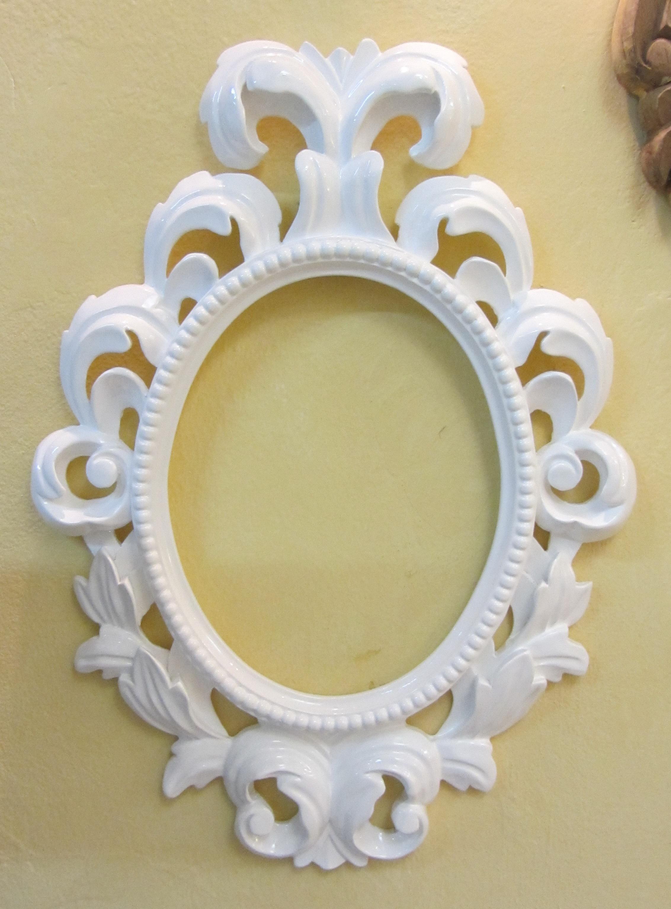 Baroque Oval mirror 694