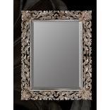 Mirror with Flower Corner